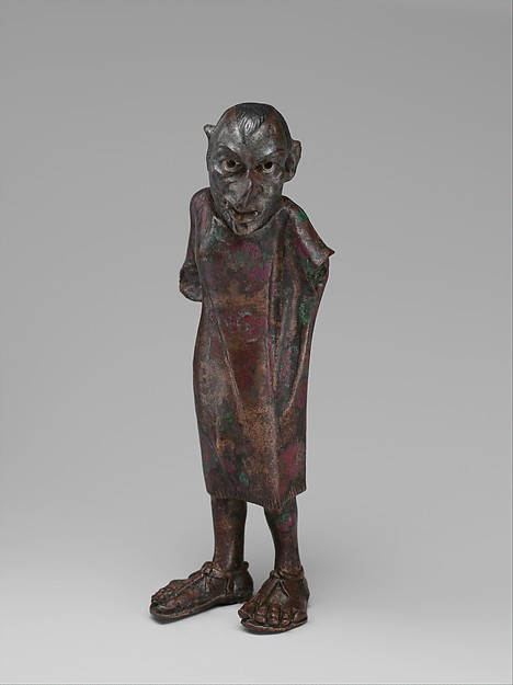 the Art Curator for Kids - Wordless Wednesday - Art History for Kids - Hellenistic Bronze Grotesque