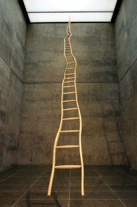 Martin Puryear, Ladder for Booker T. Washington, 1996 - tn