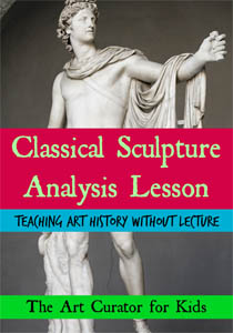 The Art Curator for Kids - Classical Sculpture Analysis Art History Lesson-300-3