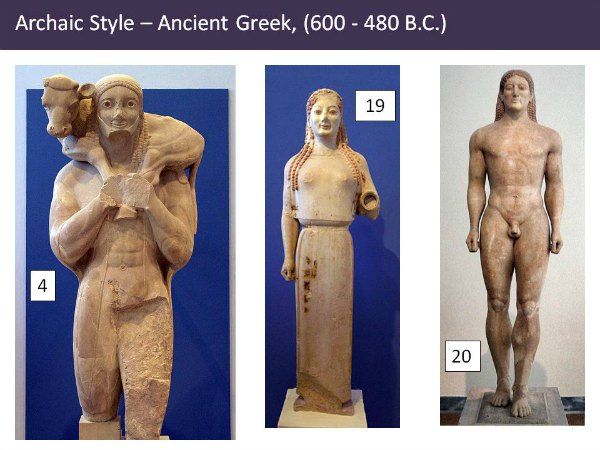 The Art Curator for Kids - Classical Sculpture Lesson Plan PowerPoint -  Slide2