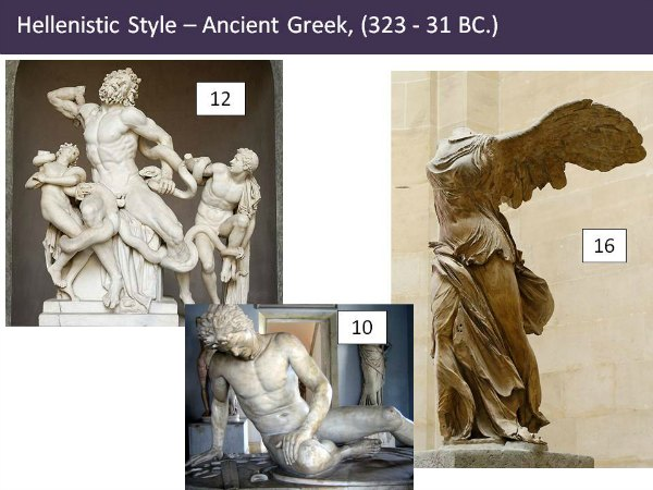 The Art Curator for Kids - Classical Sculpture Lesson Plan PowerPoint - Slide6