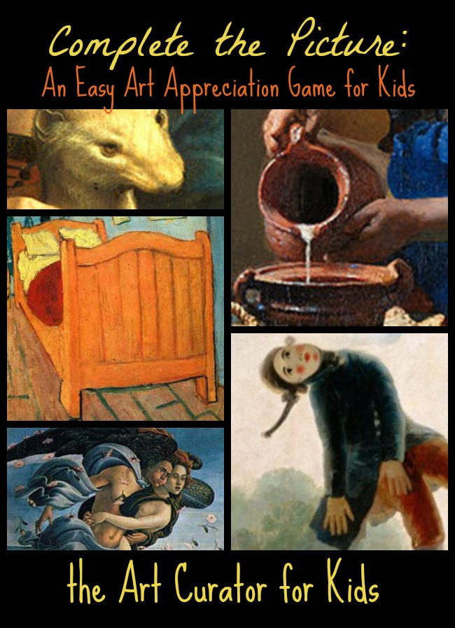 The Art Curator for Kids - Complete the Picture - An Easy Art Appreciation Game for Kids2