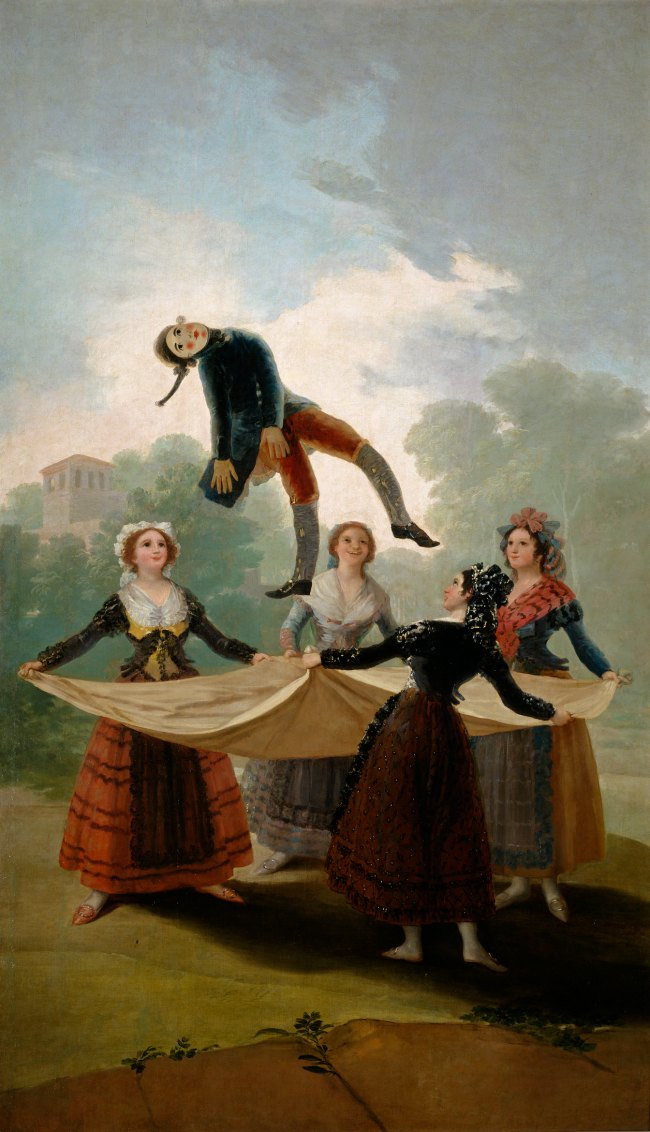 The Art Curator for Kids - Francisco Goya - The Straw Manikin