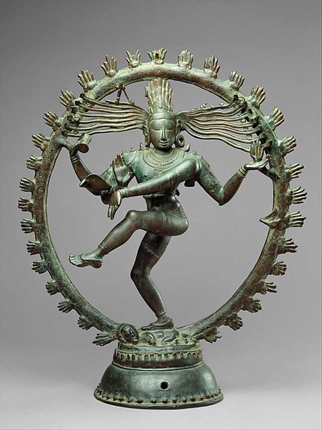 The Art Curator for Kids - Kinesthetic Art History, kinesthetic learning in art - Indian, Shiva as Lord of Dance (Nataraja), ca. 11th century
