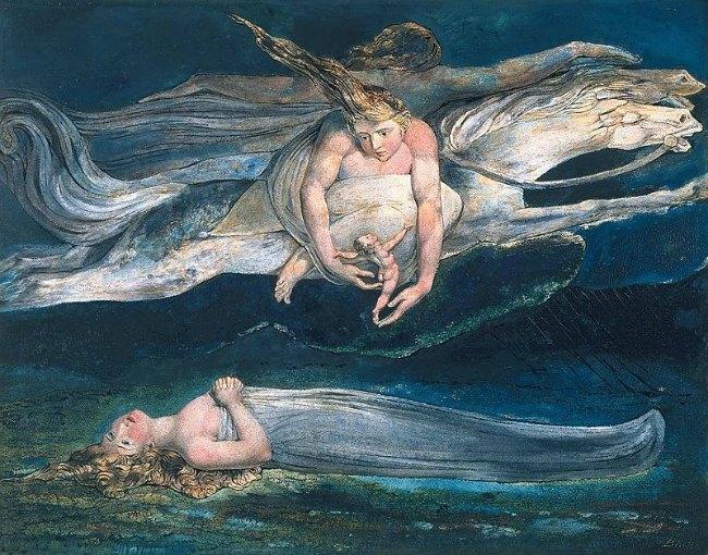 William Blake, Pity, 1795