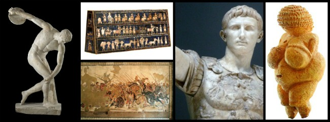 the Art Curator for Kids - Art Appreciation for Kids - Ancient to Classical Art