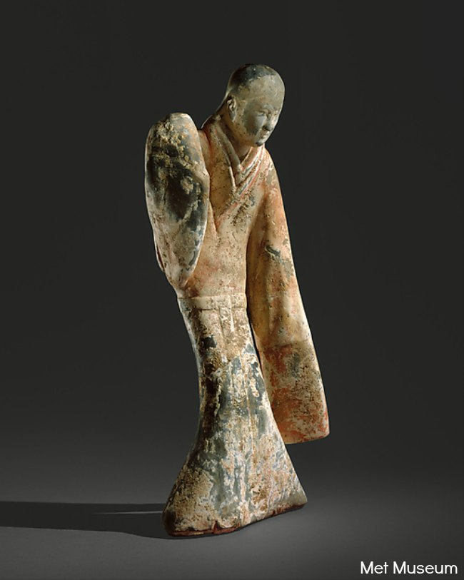 The Art Curator for Kids - Chinese Art for Chinese New Year - Female Dancer, 2nd century B.C.E. Met Museum, Met Museum, chinese art lesson ideas