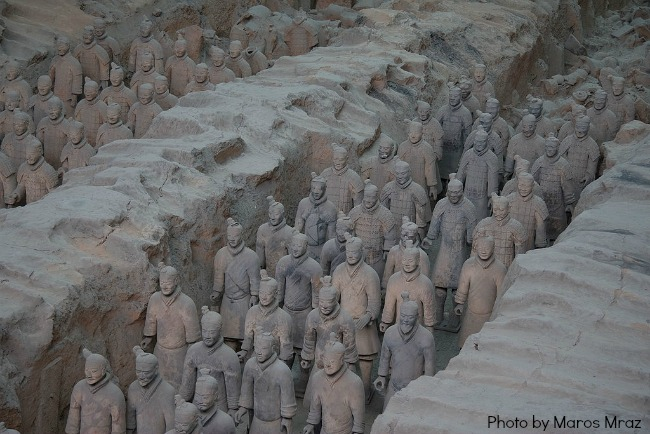 The Art Curator for Kids - Chinese Art for Chinese New Year - Terracotta Army of Qin Shi Huang, chinese art lesson ideas