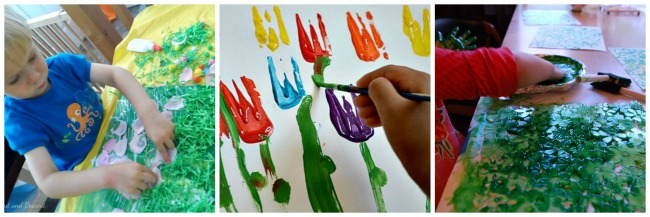15 Spring Process Art Activities