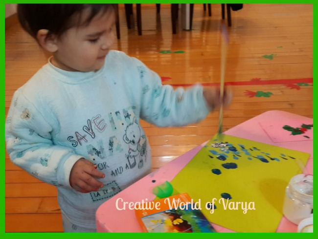 The Art Curator for Kids - Painting with Impasto with Kids - Child Painting