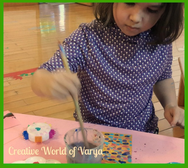 The Art Curator for Kids - Painting with Impasto with Kids - Child Painting2
