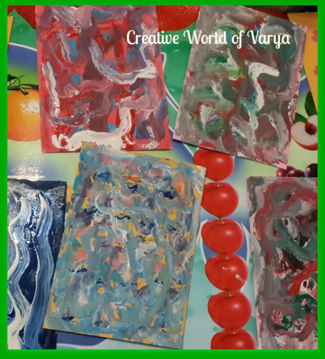 The Art Curator for Kids - Painting with Impasto with Kids - Impasto Process Art