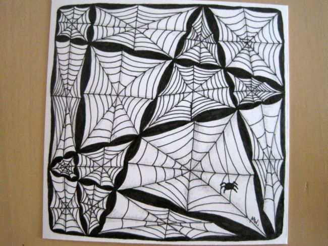 The Art Curator for Kids - Zentangles - MONO