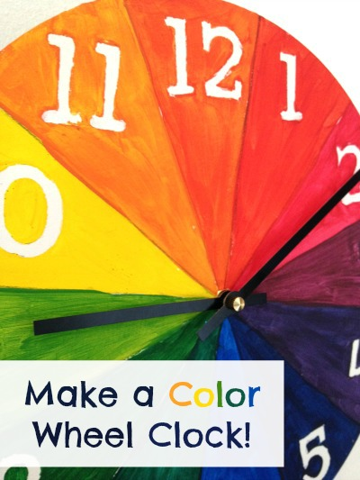 colorwheelclockpinimage Art and Math Projects