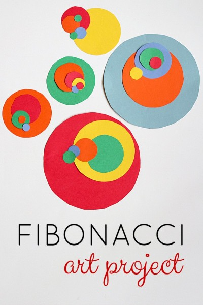 fibonacci-art-project-400x600 Art and Math Projects