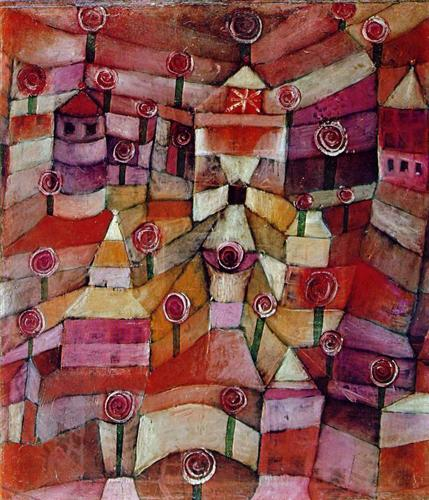 paul klee rose garden 1920, Art and Math Projects