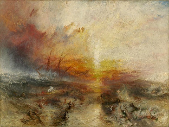 J.M.W. Turner, The Slave Ship, 1840