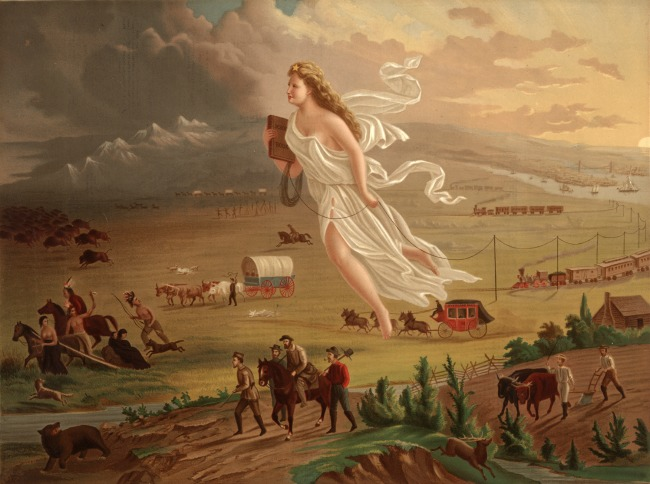 manifest destiny mid 19th century just another name aggres They are just now blotched and stained with the blood of the sepoys of slavery, which is but another name for have begun to manifest.