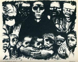 The Art Curator for Kids - Käthe Kollwitz, The Survivors, 1923