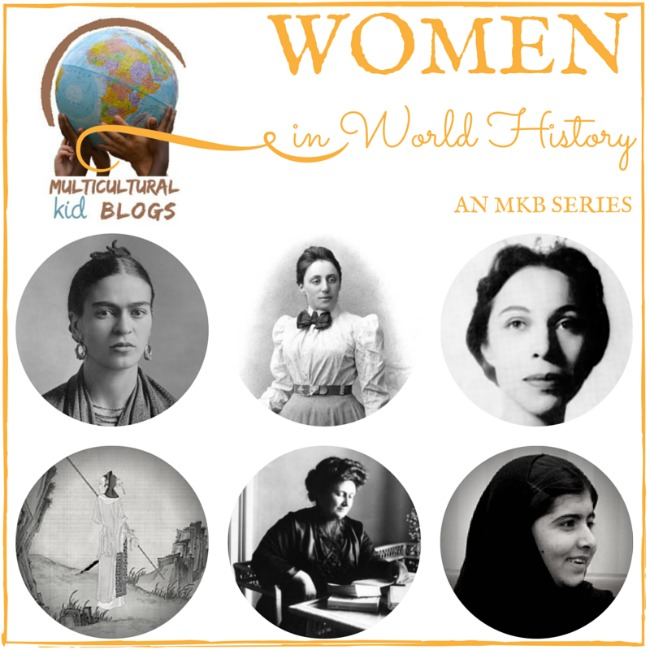 The Art Curator for Kids - Multicultural Kid Blogs - Women's History Month - Women in World History