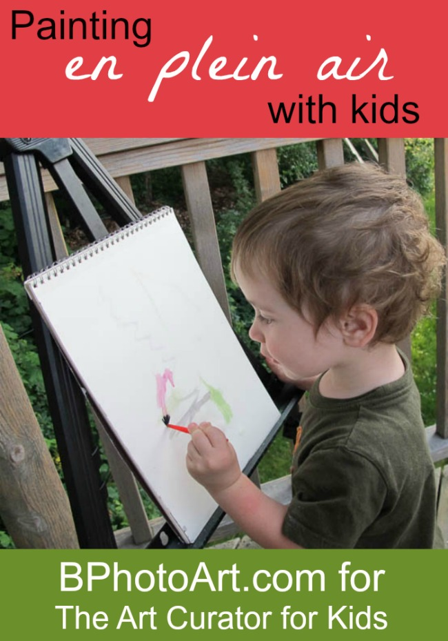 "Creating Art Alongside your Children ""En Plein Air"""