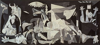 Pablo Picasso, Guernica, Museo Nacional Centro de Arte Reina Sofía, Madrid