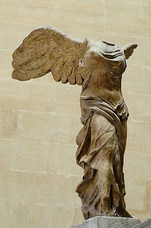 Winged Victory of Samothrace, Louvre Museum, Paris