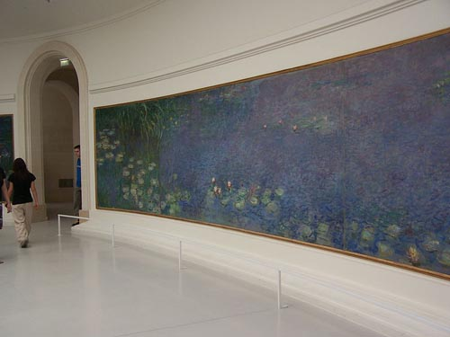 Claude Monet, Waterlilies, Musée de l'Orangerie, Paris, Photo Credit: gigi4791