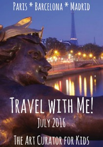 The Art Curator for Kids - Europe Trip to Paris, Barcelona, and Madrid - July 2016 - 300