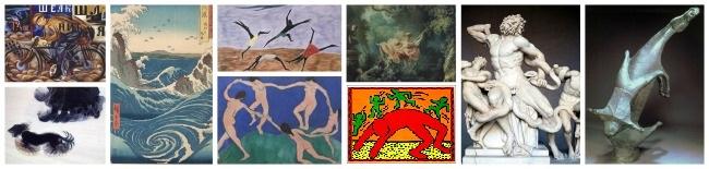 Gesture Lines examples artwork