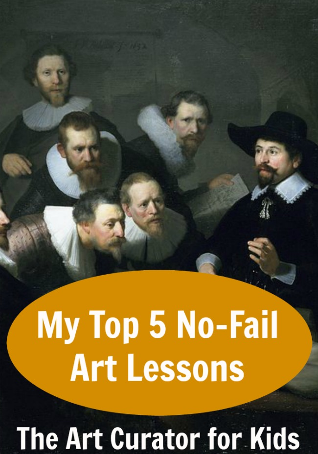 My Top 5 Art Lessons that Never Fail