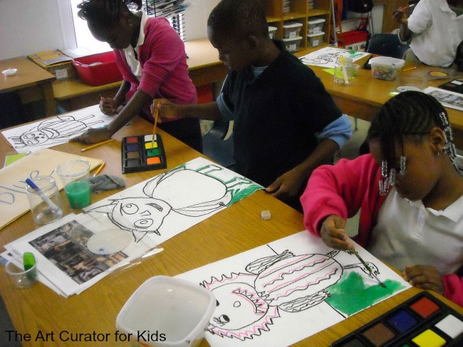 Upper Elementary Art Projects