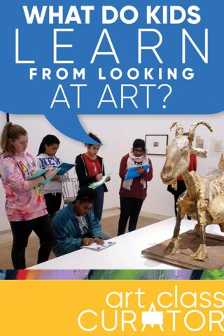 What do kids learn by looking at art