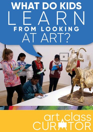 What do kids learn from looking at art?