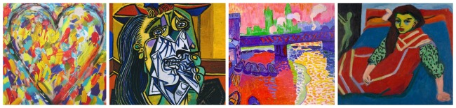The Art Curator for Kids - Color in Art Examples - Artworks that Show High Intensity Colors