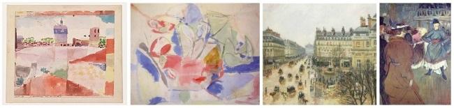 Color Intensity in Art: Low Intensity examples