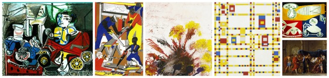 The Art Curator for Kids - Color in Art Examples - Primary Color Art