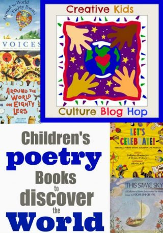 The Art Curator for Kids - Creative Kids Culture Blog Hop 27 - Poetry to Help Kids Discover the World