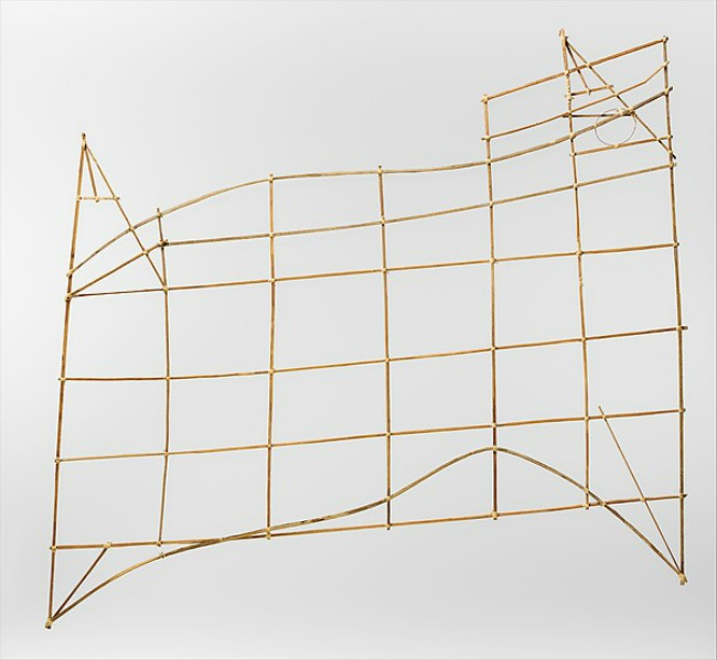 The Art Curator for Kids - Marshall Islands Stick Chart Lesson Plan and Project - Met Museum Photo