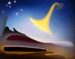 The Art Curator for Kids - Fathers in Art History - Agnes Lawrence Pelton, Awakening (Memory of Father), 1943