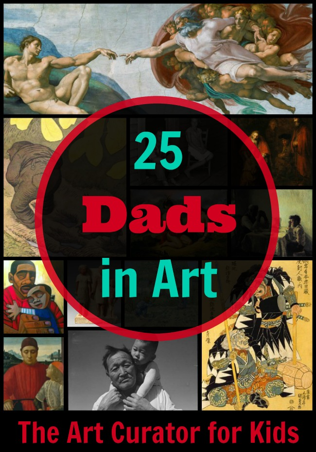 25 Views of Fathers in Art
