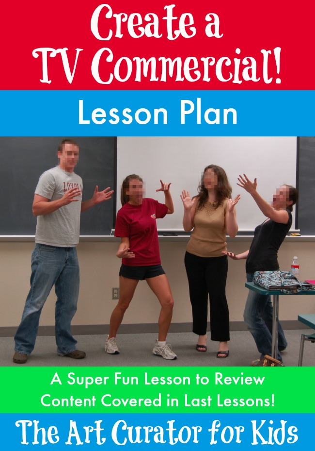 Create a TV Commercial: A Review Lesson for Any Subject