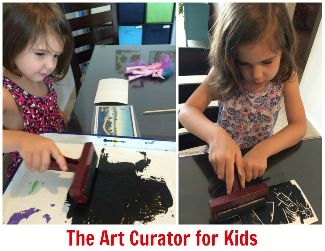 The Art Curator for Kids - Japanese Art for Preschoolers - Mount Fuji ukiyo-e prints - Hokusai lesson for kids