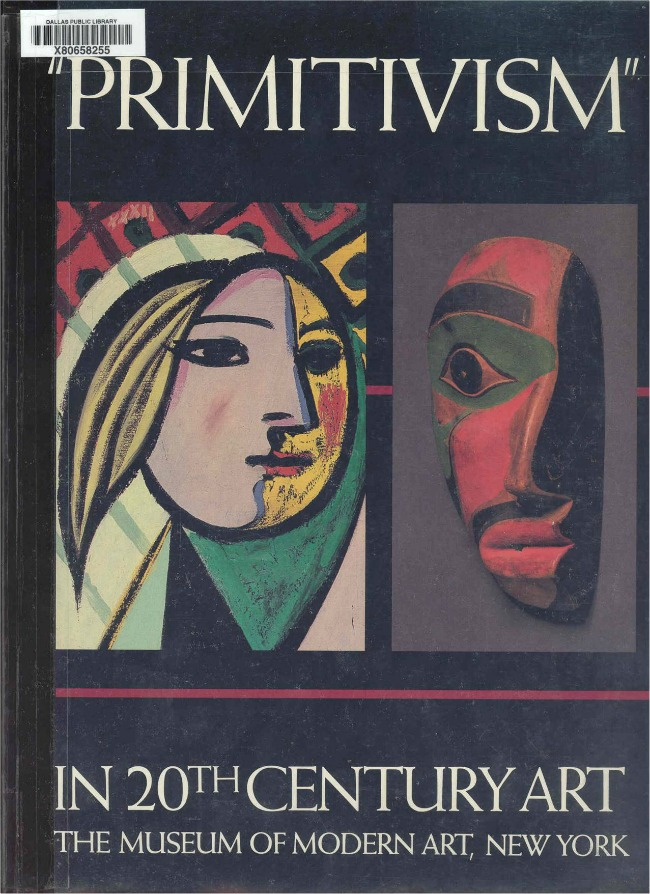 The Art Curator for Kids - Primitivism in 20th Century Art - Exhibition Catalog Cover, Ethnocentrism lesson