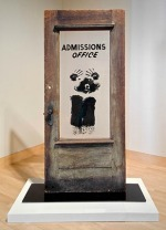Civil Rights art, David Hammons, The Door (Admissions Office), 1969