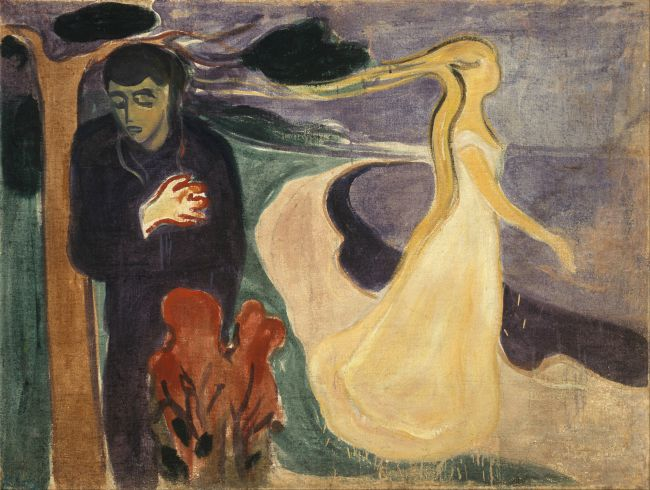 Edvard Munch, Separation, 1896 edvard munch the scream lesson