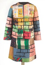 Civil Rights Movement art, Jae Jarrell, Urban Wall Suit, circa 1969