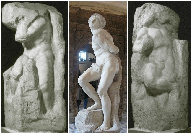 Michelangelo Buonarotti, Slaves, 1513-16 - Middle Photo Credit-Dada
