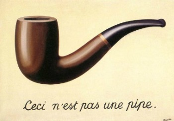 René Magritte, The Treachery of Images (This is Not a Pipe), 1929