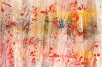 Civil Rights Movement art, Sam Gilliam, Red April, 1970